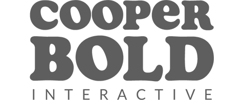 Cooper Bold brand - Custom design and front-end developers, and a strategic partner of User10